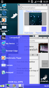 Windroid Launcher (Free) Screenshot