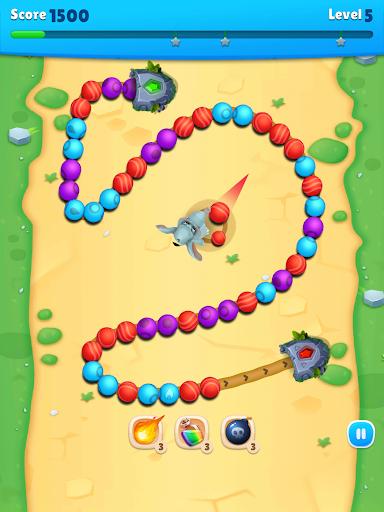 Marble Wild Friends - Shoot & Blast Marbles  screenshots 14