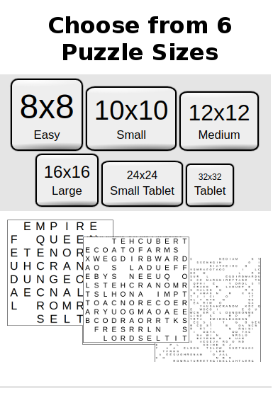 Word Search Library