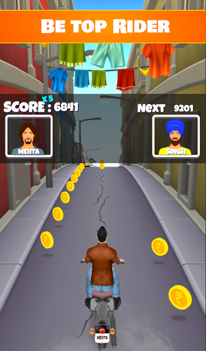 Bike Street Rush - India Edition screenshots 4