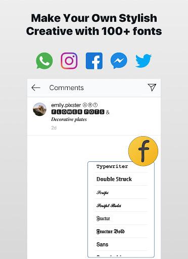 Font Changer - Cool Fonts Keyboard, Stylish Text  Screenshots 9