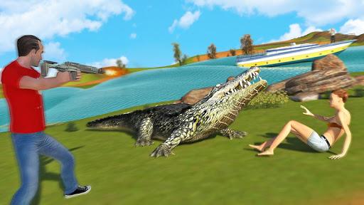 Hungry Crocodile Wild Hunt Simulation Game 8.3 screenshots 3