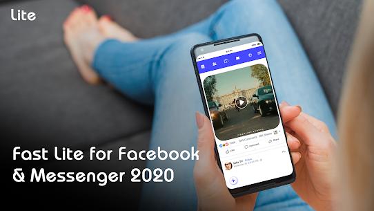 Fast Lite for Facebook & Messenger 2020 5