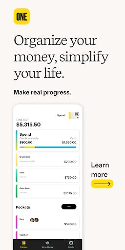 One - Mobile Banking  screenshots 1