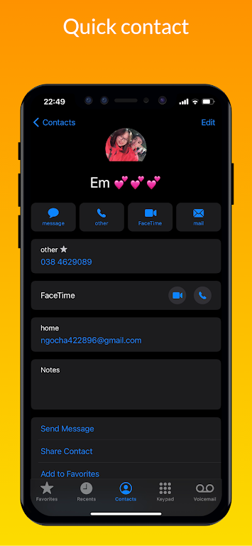 iCall – iOS Dialer, iPhone Call poster 22