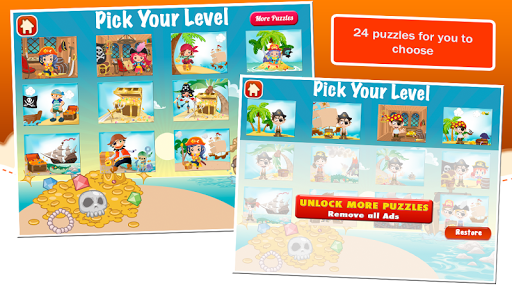Jigsaw Puzzles Pirate Games 3.80 screenshots 2