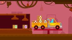 恐竜トラック-子供向けのカーシミュレーターゲームのおすすめ画像3