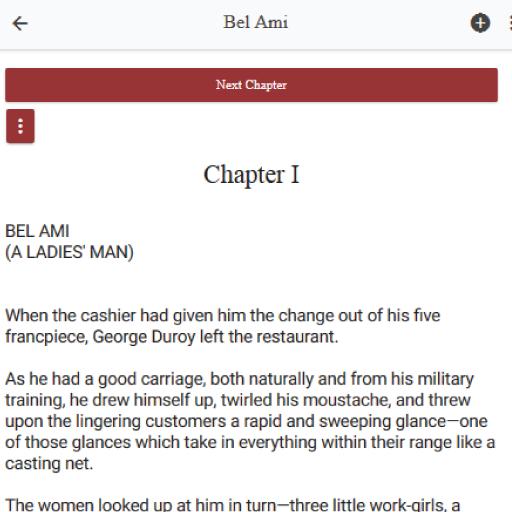 Code Triche Bel Ami  novel by French author Guy de Maupassant (Astuce) APK MOD screenshots 3