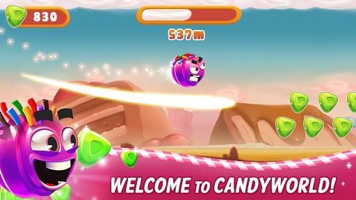 sweet racer - draw & slide in candyworld! screenshot 2