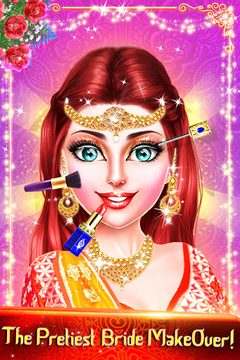 Traditional Wedding Salon - Makeup & Dress up Game Apkfinish screenshots 6
