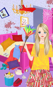 Princess House Cleaning – Messy Bedroom Games – Unlocked APK Mod Free 1