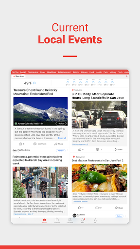 News Break: Local Breaking Stories & US Headlines  Screenshots 15