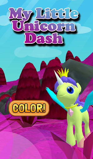 My Little Unicorn Dash 3D HD 1.12 screenshots 1