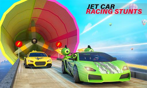 Jet Car Stunts Racing Car Game 3.6 screenshots 2