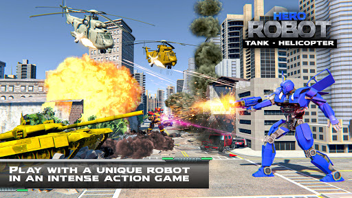 Tank Robot Transform Wars - Multi Robot Game  screenshots 3