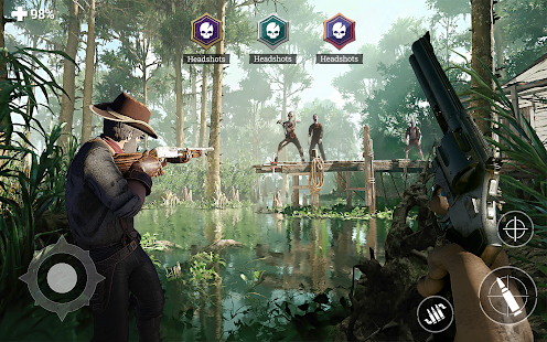 Wild West Survival: Zombie Shooter