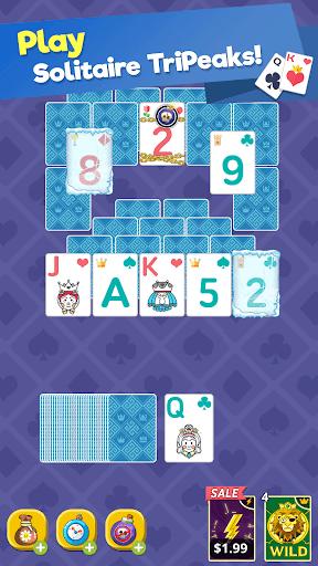 Theme Solitaire Tripeaks Tri Tower: Free card game screenshots 19