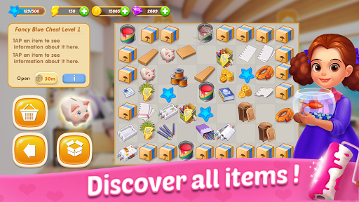 Merge Dream - Mansion design - Decorate your house android2mod screenshots 2