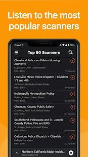 Police Scanner - Fire and Police Radio