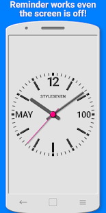 Analog Clock with Voice Reminder-7