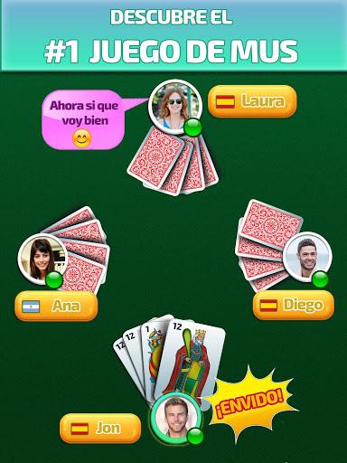 Mus Maestro - juego de mus / naipes /cartas online  screenshots 5