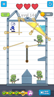 Pencil Boy -Pencilmation: Pull The Pin, save girl Screenshot