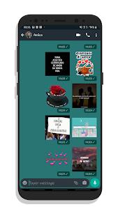 Figurinhas animadas Pesadas -WAStickerApps 2021 1.0 screenshots 1