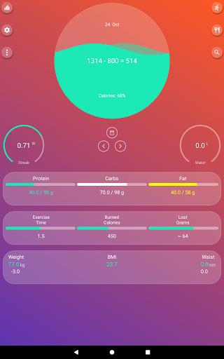 Calorie Counter - EasyFit free  Screenshots 9