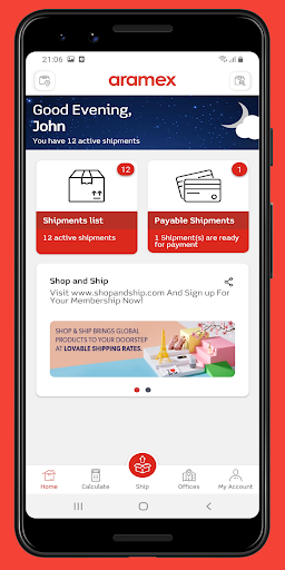 Aramex Mobile 4.1.4 release Screenshots 4