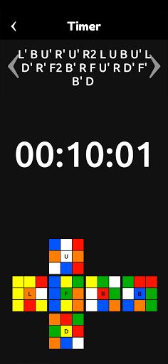 Cubik's - Rubik's Cube Solver, Simulator and Timer apkpoly screenshots 7