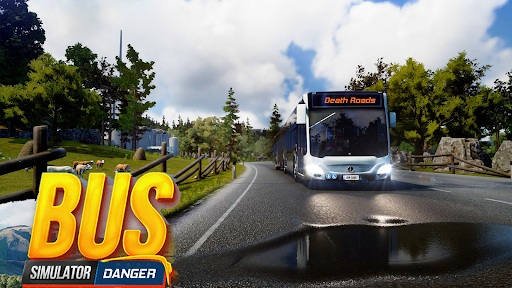 Bus Simulator : Dangerous Road screenshot 13