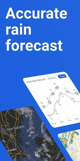 RainViewer: Weather forecast & storm tracker 2.6.1 screenshots 1
