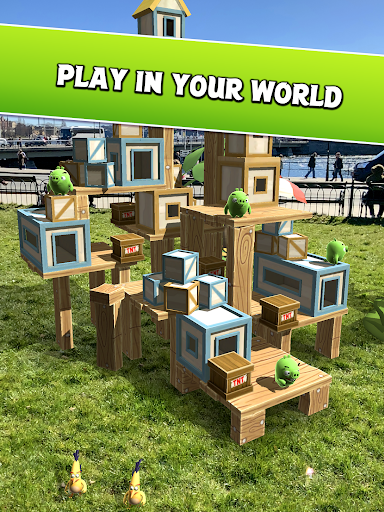 Angry Birds AR: Isle of Pigs  Screenshots 8