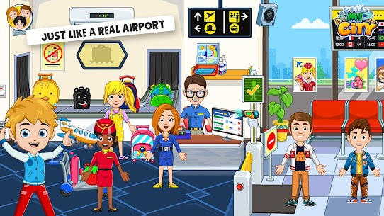 My City : Airport [Paid, MOD] For Android 3
