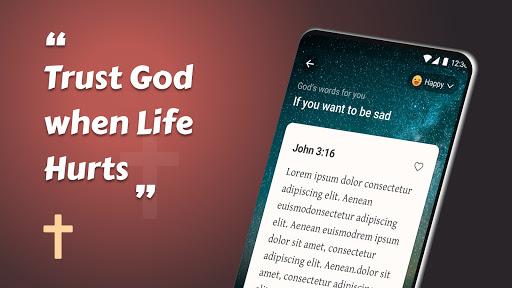 King James Bible (KJV) - Free Bible Verses + Audio android2mod screenshots 11