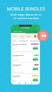 Easypaisa - Mobile Load, Send Money & Pay Bills Screenshot