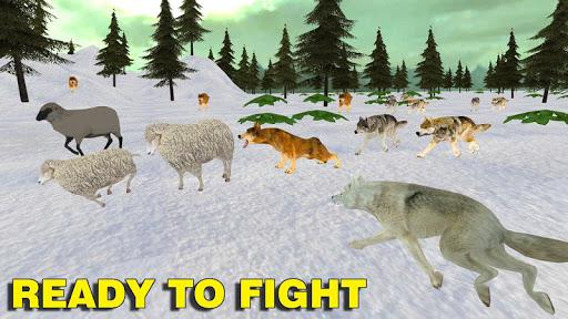 wolf family simulator : rpg wolf attack screenshot 3