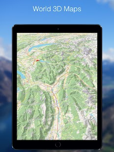 Relief Maps - 3D GPS Hiking | Trail Running | Ski Screenshot