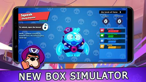 Box simulator for Brawl Stars 2 D - get best loot apktram screenshots 14