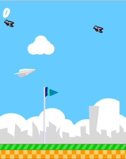 paperplane game screenshot 2