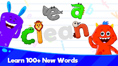 Kids Spelling & Reading Games - Learn To Readのおすすめ画像1