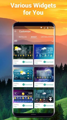 Free Weather Forecast App Widget 16.6.0.6304_50160 Screenshots 6