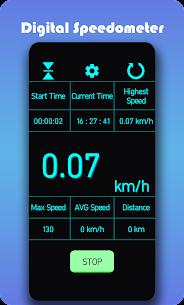 Speedometer – Car distance tracker or speed meter Apk 2