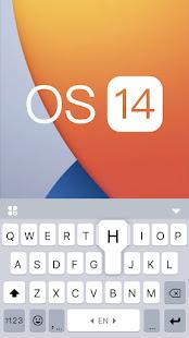 OS 14 Style Keyboard Theme 6.0.A Screenshots 5
