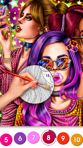 Color By Number Secrets - Coloring book & Stories 1.3.13 Screenshots 6
