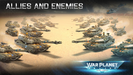 War Planet Online: Real Time Strategy MMO Game apkslow screenshots 3