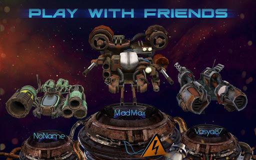 spacejunk rumble: real-time pvp arcade screenshot 2