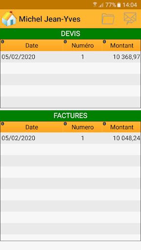 Devis & Factures Bu00e2timent 3.10.0.0 screenshots 4