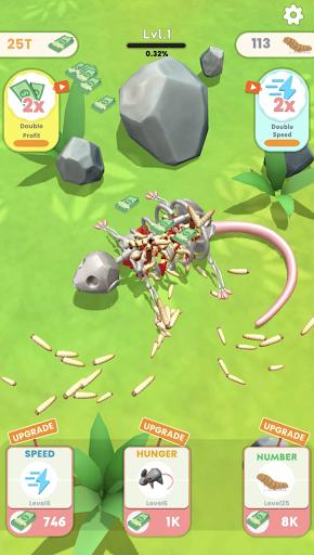 Idle Maggots apktreat screenshots 2