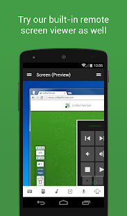 Unified Remote Full Screenshot